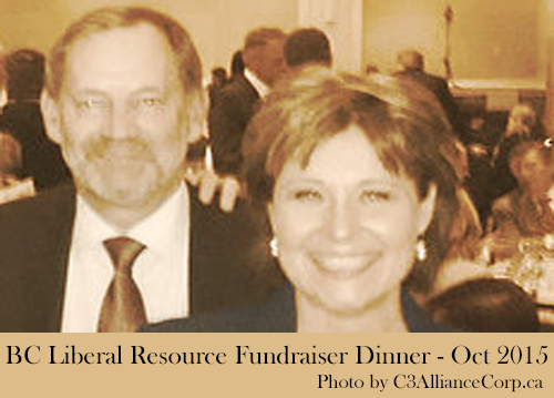 christy clark & robert quartermain