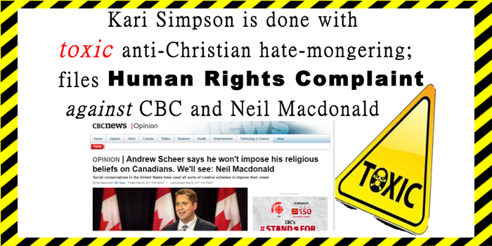 CBC Neil Macdonald violate Human Rights