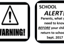 Warning! brochure
