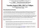 Parents Alert Meeting NOW at Brookswood Secondary School!